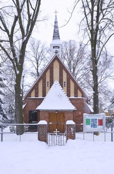 Kirche Staaken-Gartenstadt, Foto:Zabel